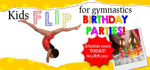 Nix Gymnastics Birthday Parties